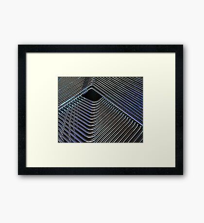 Stacked Framed Print