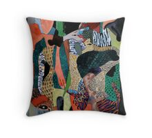 Story of Sand Throw Pillow