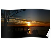 THE QUOD PROJECT - Sunset over Rottnest Island Poster