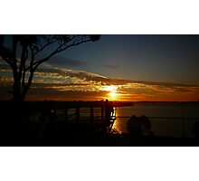 THE QUOD PROJECT - Sunset over Rottnest Island Photographic Print