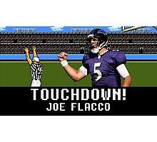 Tecmo Bowl Joe Flacco Photographic Print