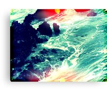 in your ocean i'm ankle deep Canvas Print