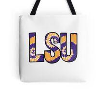LSU Tie Dye Tote Bag