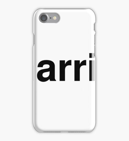 harris iPhone Case/Skin