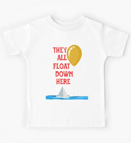 They all float... Kids Tee