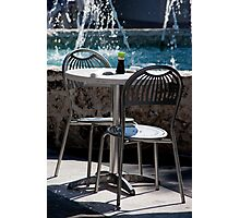 Soy Table And Chairs Photographic Print
