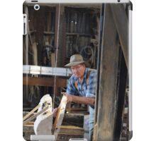 Just Cutting ,saw mill Tasmania iPad Case/Skin