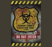 Zombie Infected Zone by David Naughton-Shires