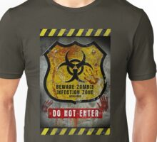 Zombie Infected Zone Unisex T-Shirt