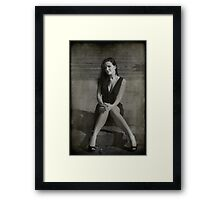 When You Get Here Framed Print
