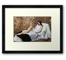 I Shaved my Legs for This !!! Framed Print