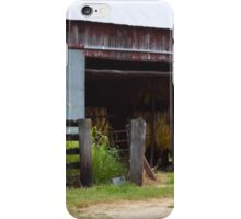 DRYING TOBACCO iPhone Case/Skin