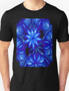 BLUE ABSTRACT # 5 T-Shirt