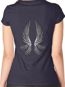 Six-Winged Angel Women's Fitted Scoop T-Shirt