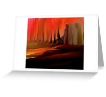 DON'T LOOK BACK!! Greeting Card