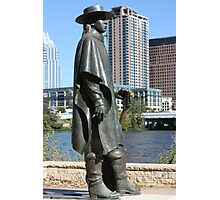 Stevie Ray Vaughan Statue Photographic Print