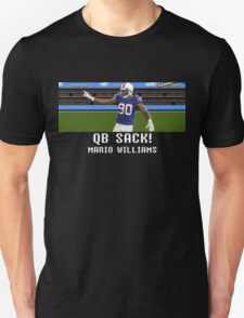 Tecmo Bowl Mario Williams T-Shirt