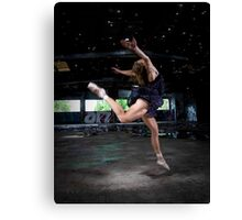 Dancing to the stars... Canvas Print