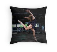 Dancing to the stars... Throw Pillow