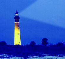 """Ponce Lighthouse"" - lighthouse at Ponce Inlet in Florida by John Hartung"