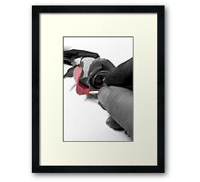Hand painted for you Framed Print