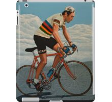 Eddy Merckx painting iPad Case/Skin