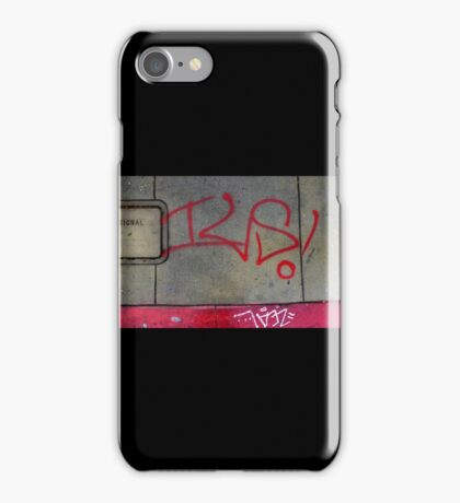 Venice Beach Bus Stoppin' iPhone Case/Skin