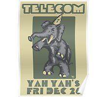 Telecom at Yah Yah's Boxing Day 2008 Poster