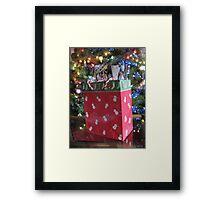 """Random Dancing Snowmen - Random Dancing Snowmen!"" Framed Print"