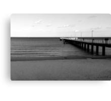 Baltic Sea - Bridge Canvas Print
