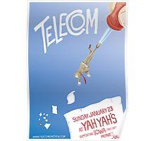 Telecom at Yah Yah's 2011 01 23 Poster