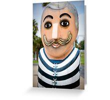 Bollard Series 2 - Eastern Beach Geelong Greeting Card