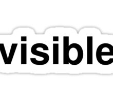 visible Sticker