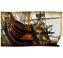 HMS Victory Poster