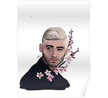 Zayn-cherry blossoms  Poster