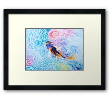 Joy in the Water Framed Print