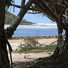 Tallebudgera Creek Entrance by aussiebushstick