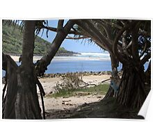 Tallebudgera Creek Entrance Poster