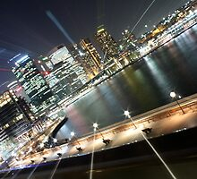 Sydney by Night by simbachee