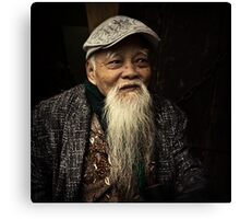 Man in Hanoi #0101 Canvas Print