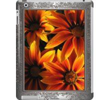 Gazania named Kiss Orange Flame iPad Case/Skin
