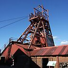 big pit,Blaenavon south wales by MICHAEL GAY