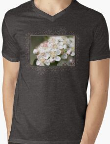 Aronia Blossoms Mens V-Neck T-Shirt
