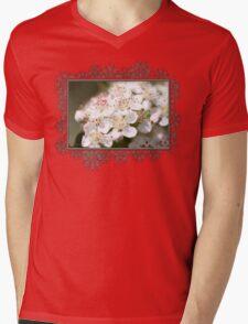 Aronia Blossoms Mens V-Neck T-Shirt