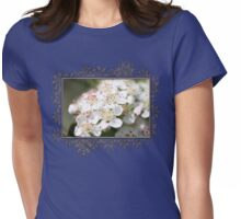 Aronia Blossoms Womens Fitted T-Shirt