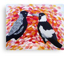 Love in the Air Canvas Print