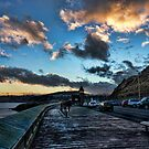 North Marine Drive. by Colin Metcalf