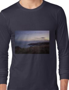 Sunset on Cruden Bay - North East coast of Aberdeenshire, Scotland Long Sleeve T-Shirt