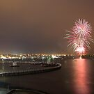 Geelong Audi Week Fireworks by Peter Redmond