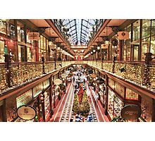 The Strad @ Christmas Sydney  Photographic Print